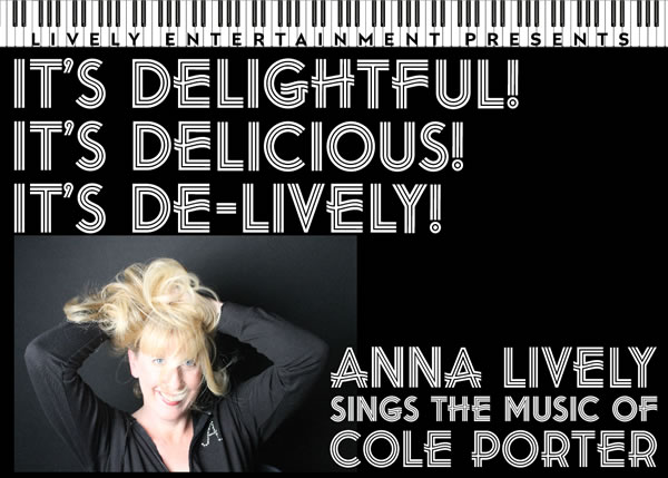 Anna Lively sings the music of Cole Porter